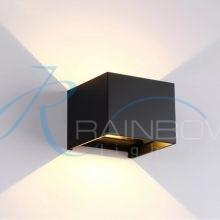 Бра кубик черное 7107/1w BK
