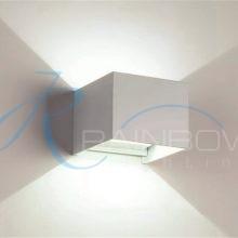 Бра кубик белое 7107/1w WT