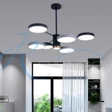 Люстра LED с плафонами малая 4594/6