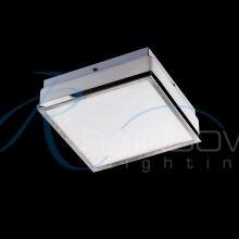 Светильник закрытый с плафоном хром 3688/1 CR